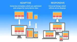 Differenza tra Adaptive Design e Responsive Design