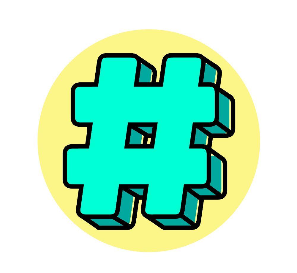 Puoi comparire nel feed degli utenti che seguono quell'hashtag