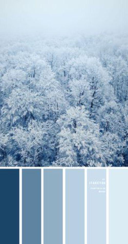 Il blu produce serenità, per argomenti meno impegnati può essere una buona scelta.