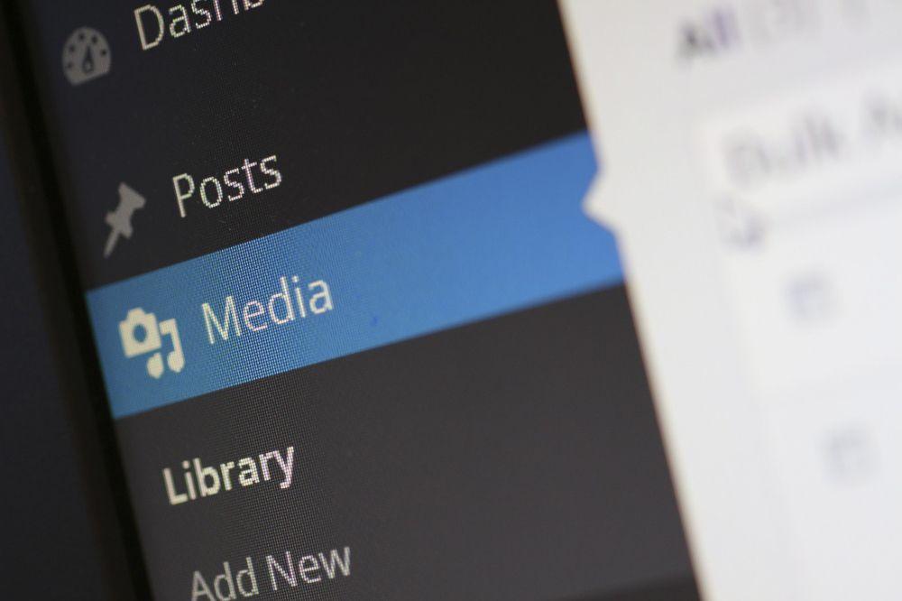 Media Library di Wordpress
